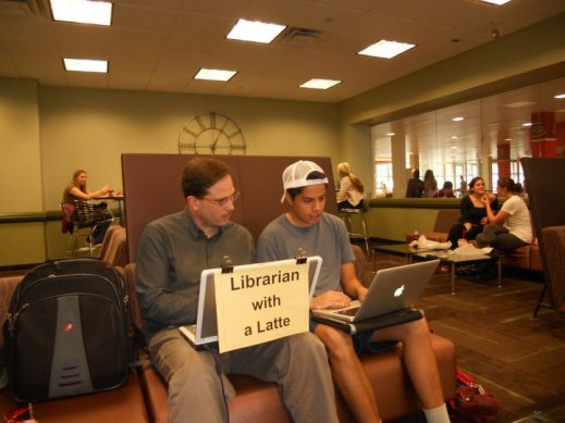 librarian-with-latte