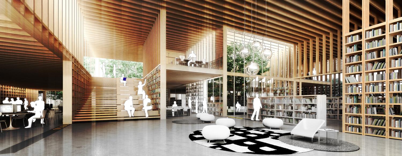 Espacios, edificios, arquitectura y bibliotecarios