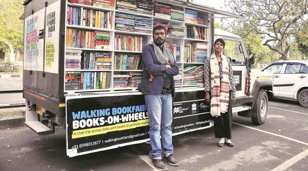 Walking Book Fair