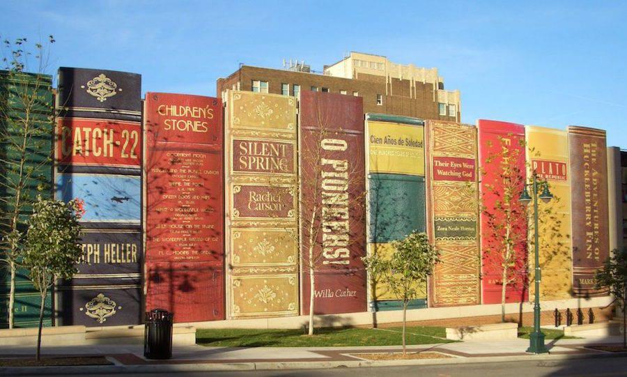 Parking de la Biblioteca Pública de Kansas City.