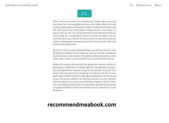 recommendmeabook