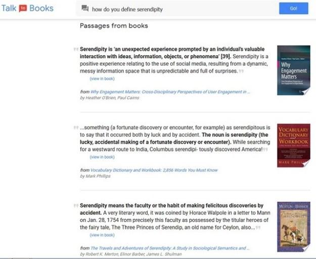 """Hable con los libros"""", proyecto de Google que permite encontrar ..."""