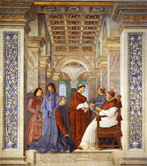 melozzo_da_forlc3ac_-_foundation_of_the_library_-_wga14779