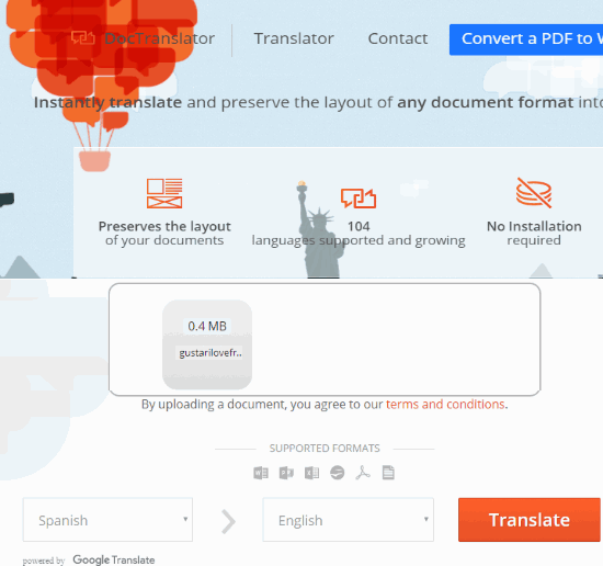 free-online-document-translator