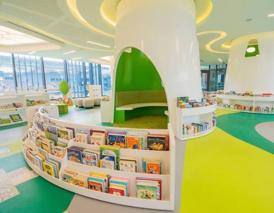 tampines-hub-new-library-kids-level-3