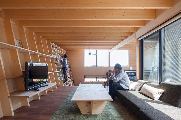 bookshelf-house-designboom-3