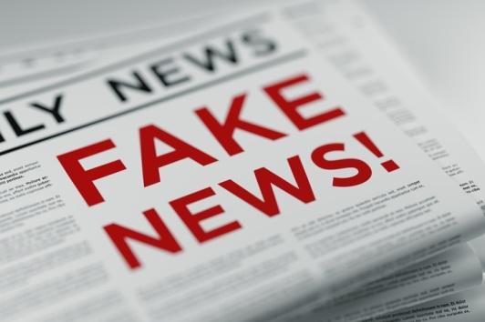 Fake News And Fake Newspaper