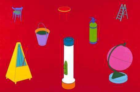 Knowing 1996 by Michael Craig-Martin born 1941