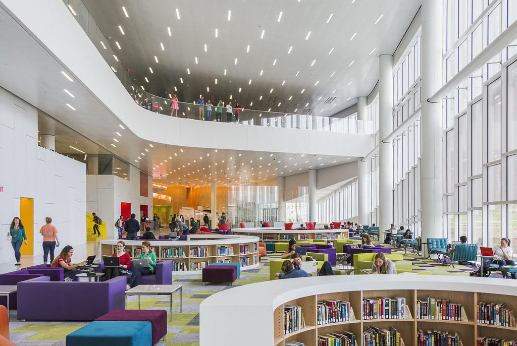 North Carolina State University, James B Hunt Jr Library