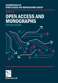 open access and monographs