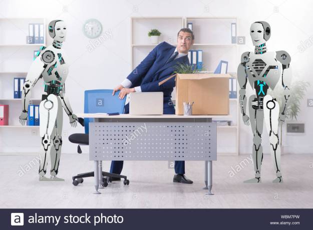 the-concept-of-robots-replacing-humans-in-offices-wbm7pw