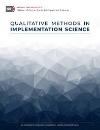 Qualitative Methods In Implementation Science